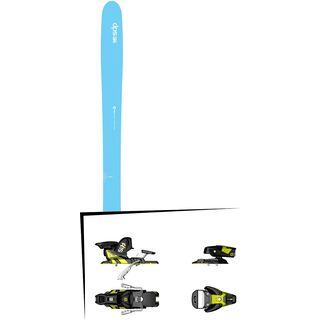 DPS Skis Set: Nina 99 Hybrid 2016 + Salomon STH2 WTR 13