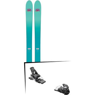 Set: DPS Skis Nina F99 Foundation 2018 + Tyrolia Attack 16 solid black