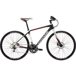 Cannondale Quick Carbon 1 2015, matte black/white - Fitnessbike