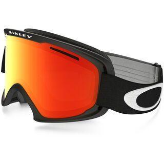 Oakley O2 XL, matte black/Lens: fire iridium - Skibrille