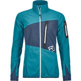 Ortovox Merino Light Skin Tofana Jacket W, aqua - Softshelljacke