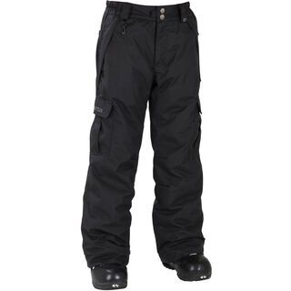 686 Boys Mannual Ridge Insulated Pant, Black - Snowboardhose