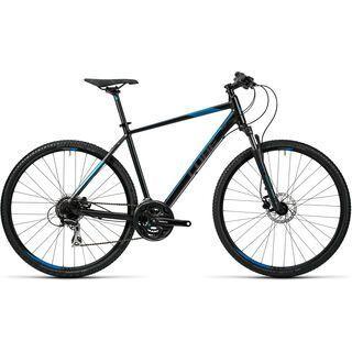 Cube Curve Pro 2016, black grey blue - Fitnessbike