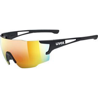uvex sportstyle 804, black mat/Lens: mirror red - Sportbrille