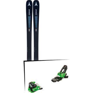 Set: Atomic Vantage 90 TI W 2019 + Tyrolia Attack² 11 GW green