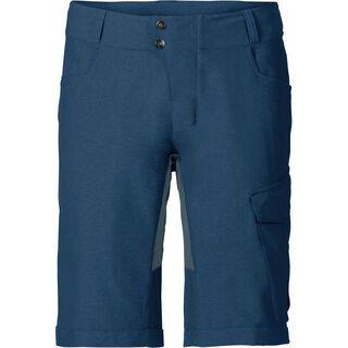 Vaude Mens Tremalzo Shorts II inkl. Innenhose, fjord blue - Radhose