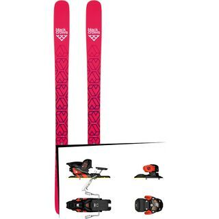 Set: Black Crows Camox Birdie 2019 + Salomon Warden MNC 13 white/black/orange