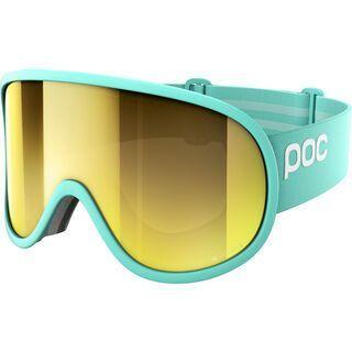 POC Retina Big Clarity, tin blue/spektris gold - Skibrille