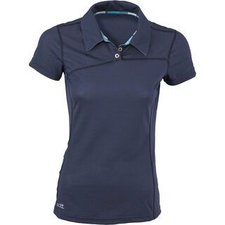 Scott Womens Adaline Polo, blue nights - Poloshirt