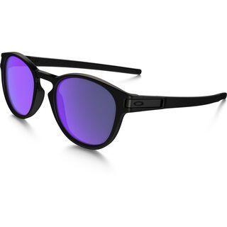 Oakley Latch, matte black/Lens: violet iridium - Sonnenbrille