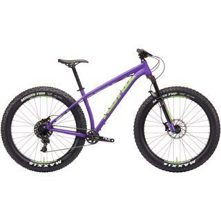 Kona WoZo 2019, purple w/ lime - Mountainbike