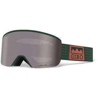 Giro Axis inkl. WS, well green alps/Lens: vivid onyx - Skibrille