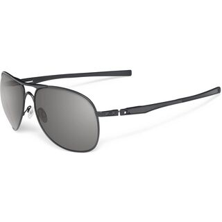 Oakley Plaintiff, Matte Black/Warm Grey - Sonnenbrille