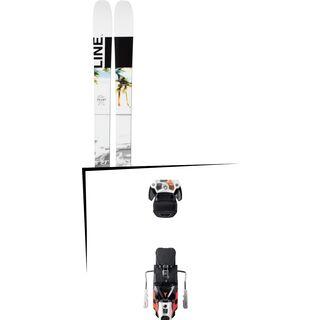 Set: Line Tom Wallisch Pro 2019 + Atomic Warden MNC 13 white/black/orange
