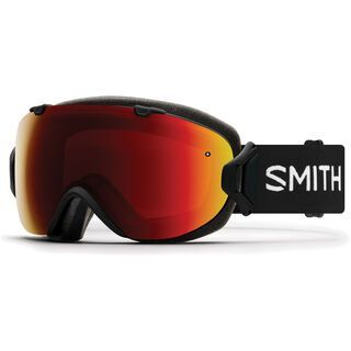 *** 2. Wahl *** Smith I/OX inkl. WS, black/Lens: cp sun red mir - Skibrille |