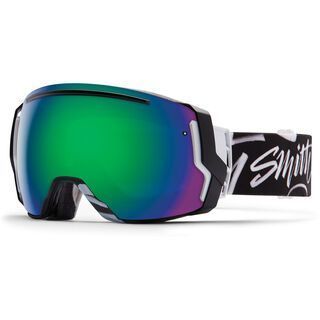 Smith I/O 7 + Spare Lens, eaves type/green sol-x mirror - Skibrille