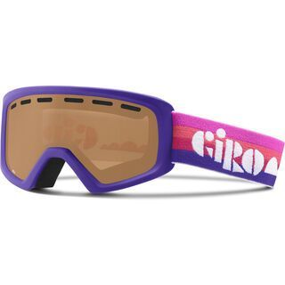 Giro Rev, purple clouds/amber rose - Skibrille
