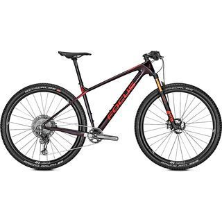 Focus Raven 9.9 2020, tinted black/red - Mountainbike