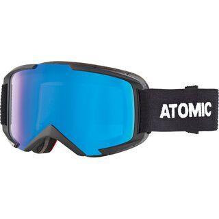 Atomic Savor M Stereo, black/Lens: blue - Skibrille