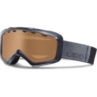 Giro Charm , black color bars/amber rose - Skibrille