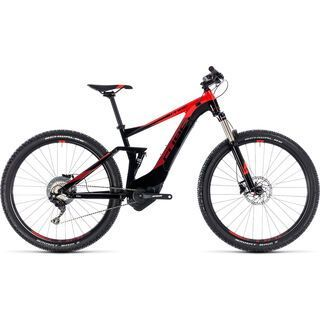 Cube Stereo Hybrid 120 Pro 500 27.5 2018, black´n´red - E-Bike