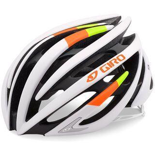 Giro Aeon, matte white lime flame - Fahrradhelm