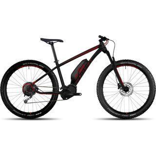 Ghost Hybride Kato 3 AL 27.5 Plus 2017, black/red - E-Bike