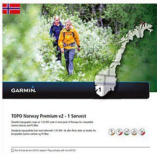 Garmin Topo Norwegen Premium 1 - Sorvest (microSD/SD) - Karte