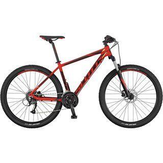 Scott Aspect 750 2017, red/black/yellow - Mountainbike