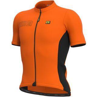 Ale Color Block Jersey, fluo orange - Radtrikot