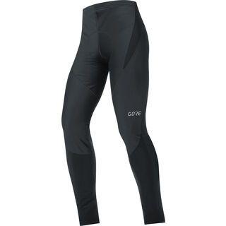Gore Wear C3 Partial Gore Windstopper Tights+, black - Radhose