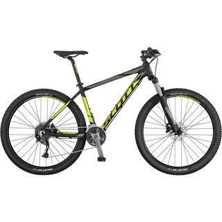 Scott Aspect 740 2017, black/yellow/grey - Mountainbike