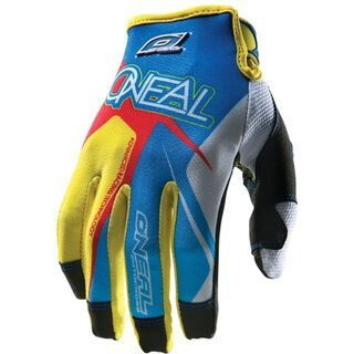 ONeal Jump Gloves Race, blue/red/yellow - Fahrradhandschuhe