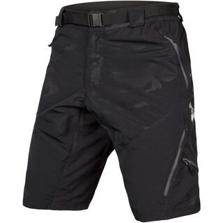 Endura Hummvee Short II with Liner black camouflage