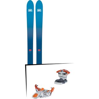 Set: DPS Skis Wailer F106 Foundation 2018 + G3 Ion LT 12