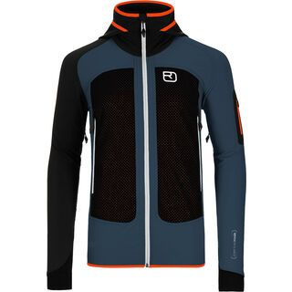 Ortovox Merino Naturtec Light Col Becchei Jacket M, night blue - Softshelljacke