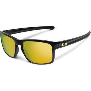 Oakley Sliver, polished black/Lens: 24k iridium - Sonnenbrille