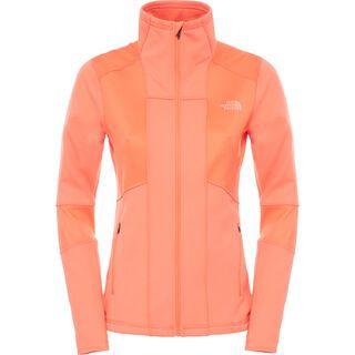 The North Face Womens Croda Rossa Fleece, radiant orange - Fleecejacke