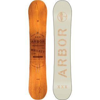 Arbor Whiskey Mid Wide 2019 - Snowboard