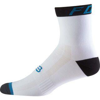 Fox 6 Logo Trail Sock, teal - Radsocken