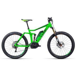 Cube Stereo Hybrid 140 HPA SL 27.5 2015, green/orange - E-Bike