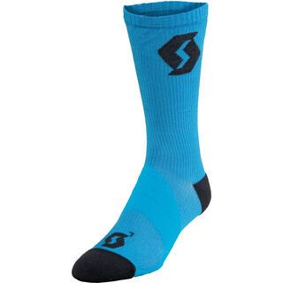 Scott Endurance Long Socken, diva blue/black - Radsocken