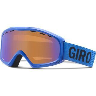 Giro Signal, blue monotone/persimmon boost - Skibrille