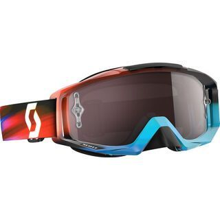 Scott Tyrant, speed blue/silver chrome - MX Brille