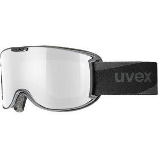 uvex Skyper VP, black/Lens: litemirror silver - Skibrille