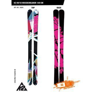 K2 Missdemeanor 09/10 - Ski