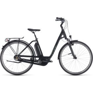 Cube Town Hybrid ONE 500 Easy Entry 2018, black´n´frostgreen - E-Bike