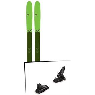 DPS Skis Set: Wailer 99 Pure3 Special Edition 2016 + Marker Jester 16
