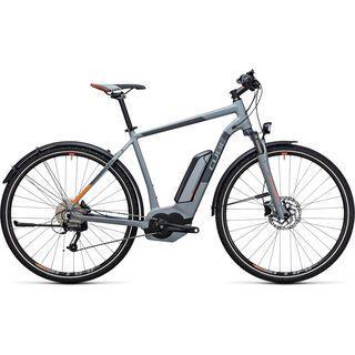 Cube Cross Hybrid ONE Allroad 500 2017, grey´n´orange - E-Bike