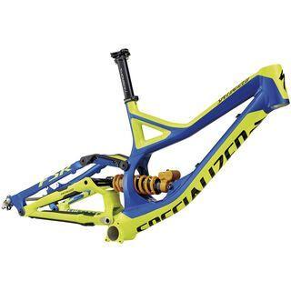 Specialized Demo 8 FSR Frame 2014, Indigo/Yellow - Fahrradrahmen